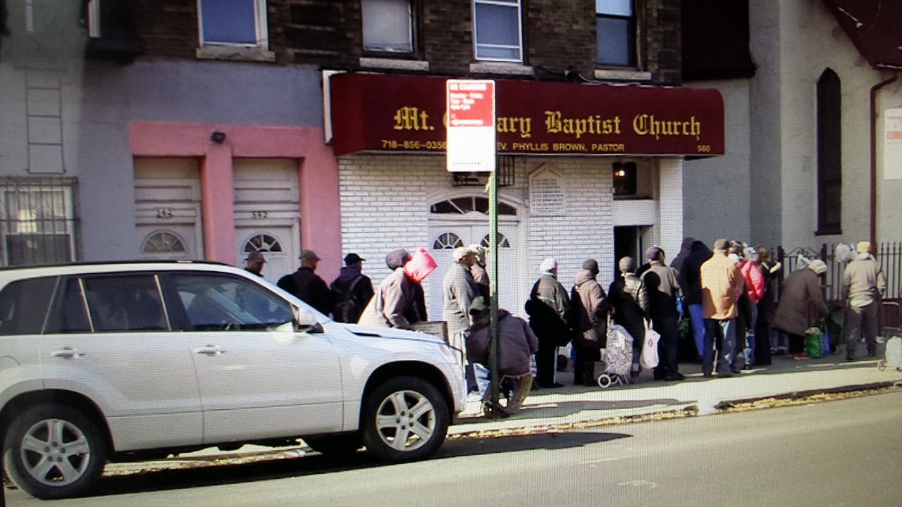Hunger crisis in East Flatbush as Congress cuts back on Food Stamp benefits